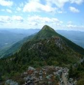 Portions of the Appalachian Trail in Maine cross difficult terrain.