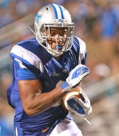 Sophomore Jordan Parker ran for a career-high 156 yards in Middle Tennessee's 45-24 victory over Western Carolina on Thursday.