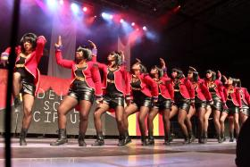 Delta Sigma Theta stepping out