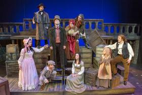 The Cast of MTSU's Production of Les Miserables