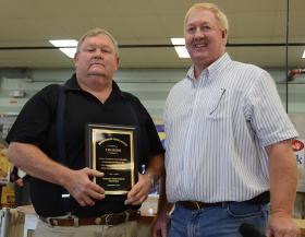 Redd receives award