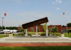 The 9-11 Memorial at the Rutherford County Sheriff's Office on New Salem Highway in Murfreesboro.