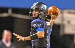 Middle Tennessee quarterback Logan Kilgore was named the Conference USA Offensive Player of the Week.