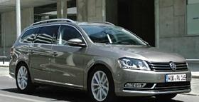 The Passat is one of the car models currently being built at the VW plant in Chattanooga.