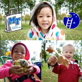 MTSU Project Help food drive 2013 kids group