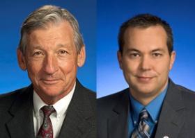 Senator Niceley, (L); Rep Matheny (R)