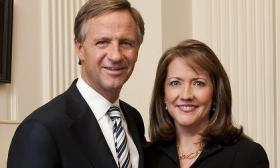 Governor Bill, and First Lady Crissy Haslam