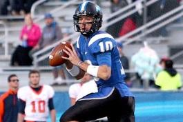 Senior QB Logan Kilgore and 23 other Blue Raiders celebrated Senior Day with a 48-17 win over UTEP. (MT)