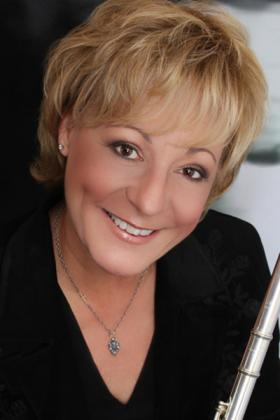 Mary Stolper, guest artist for the MTSU Flute Festival