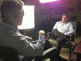 Pelley Interviews Reeder