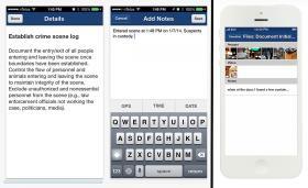 Case app screens