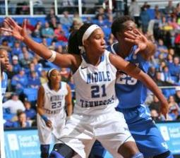 Lady Raider Ebony Rowe is the C-USA Player of the Year.