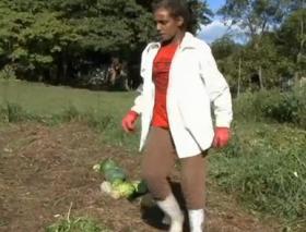 Farmer Adrienne Gibson, Pioneer, Tenn.