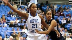 C-USA Female Athlete of the Year, Ebony Rowe