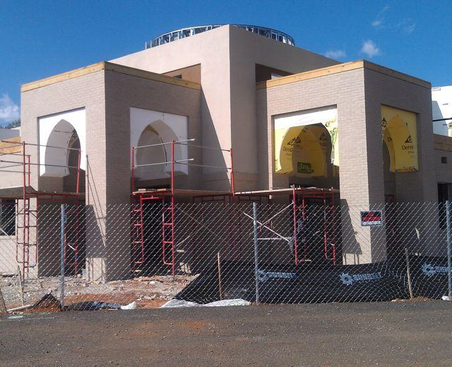 The Islamic Center of Murfreesboro is nearly complete.