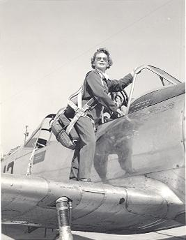 U.S. Veteran Vickie Riggan in a photo provided to the Albert Gore Research Center at MTSU