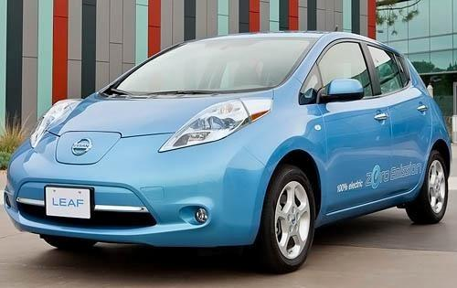 The 2012 Nissan LEAF