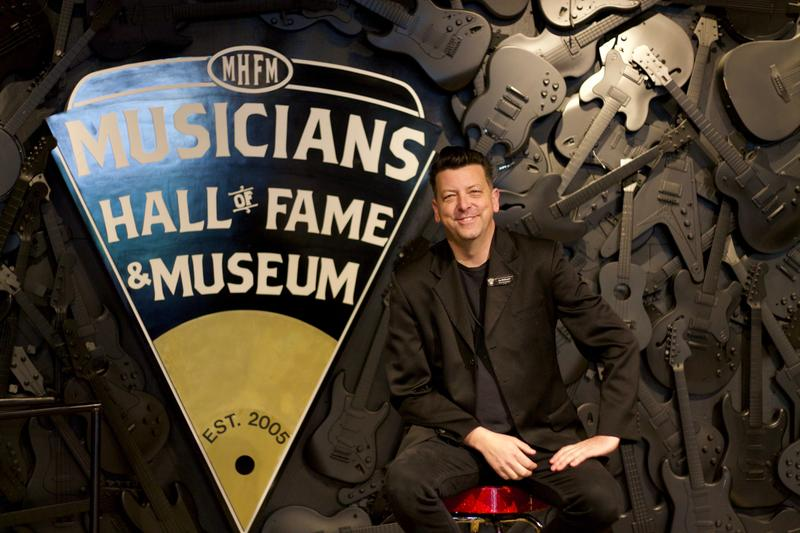 Multi-media curator Jay McDowell of the Musicians Hall of Fame & Museum