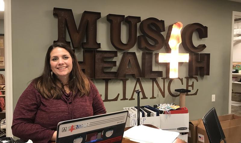Music Health Alliance founder and CEO Tatum Allsep