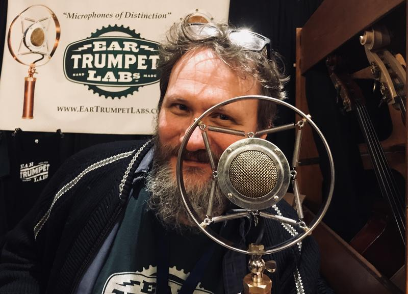 Inventor and owner Philip Graham of Ear Trumpet Labs