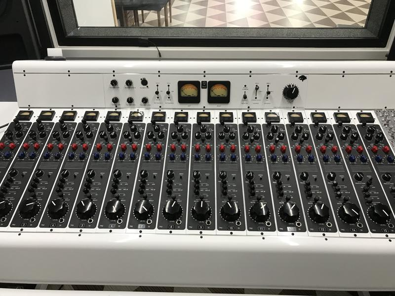 Layman Drug Co's new but vintage style mixing console