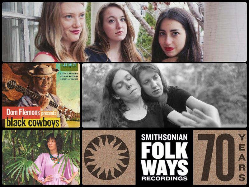 Clockwise from Top: Lula Wiles, Anna & Elizabeth, Kaia Kater and Dom Flemons