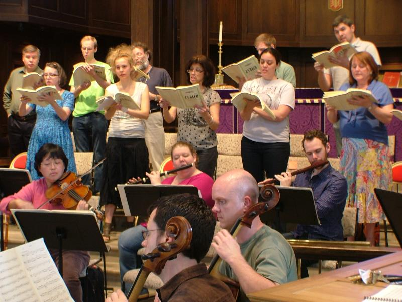 Music City Baroque and Friends in Rehearsal for Bach B-Minor Mass