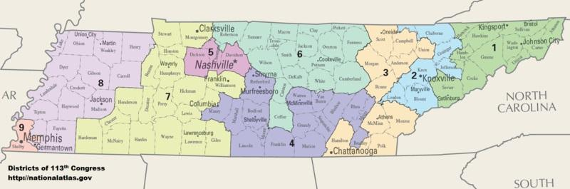 Tenn Rep Jim Cooper Taking Another Stab At Redistricting