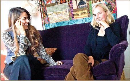 Left: Ingrid De Sanctis Right: Sarah Elizabeth Pharis
