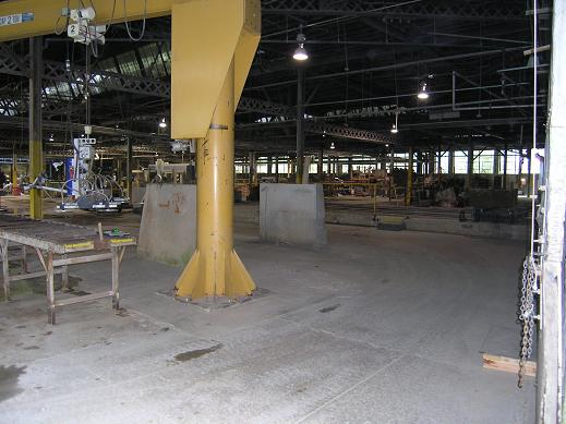 Inside the processing plant