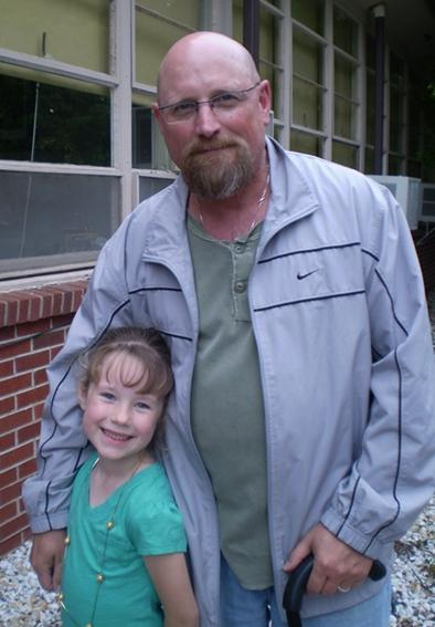 Keith and granddaughter Caylin