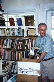 Paul Collinge and his books