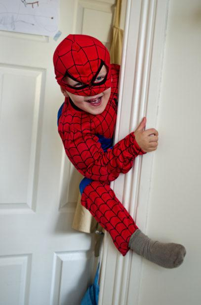 "<a href=""http://www.publicdomainpictures.net/view-image.php?image=23490&picture=little-spiderman"">Little Spiderman</a> by Jiri Hodan"