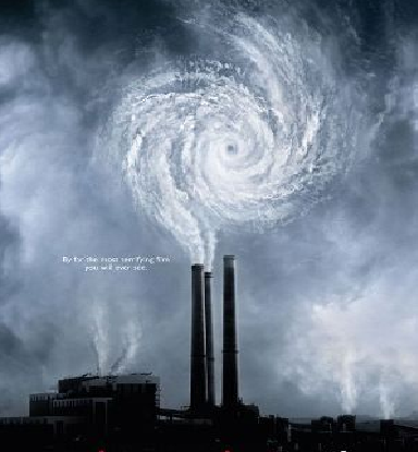 "Portion of poster from the film ""An Inconvenient Truth"""