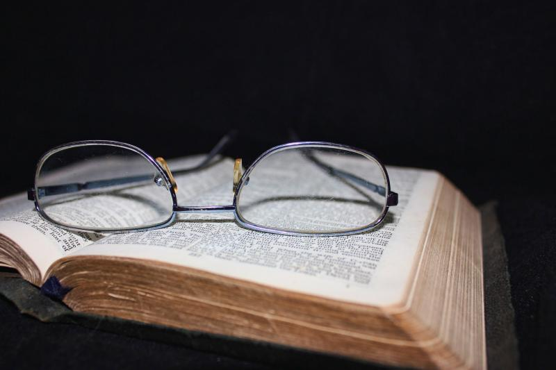 "<a href=""http://www.publicdomainpictures.net/view-image.php?image=29515&picture=book-and-glasses"">Book And Glasses</a> by Darren Lewis"