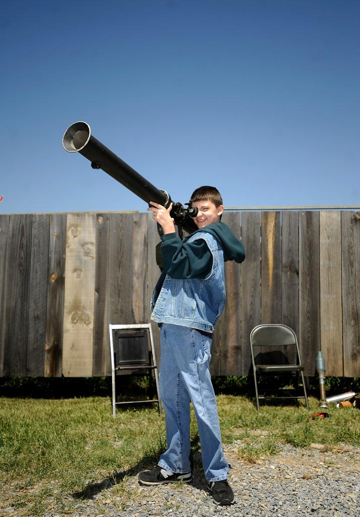Bazooka Boy. Photo: Pat Jarrett/The News Leader