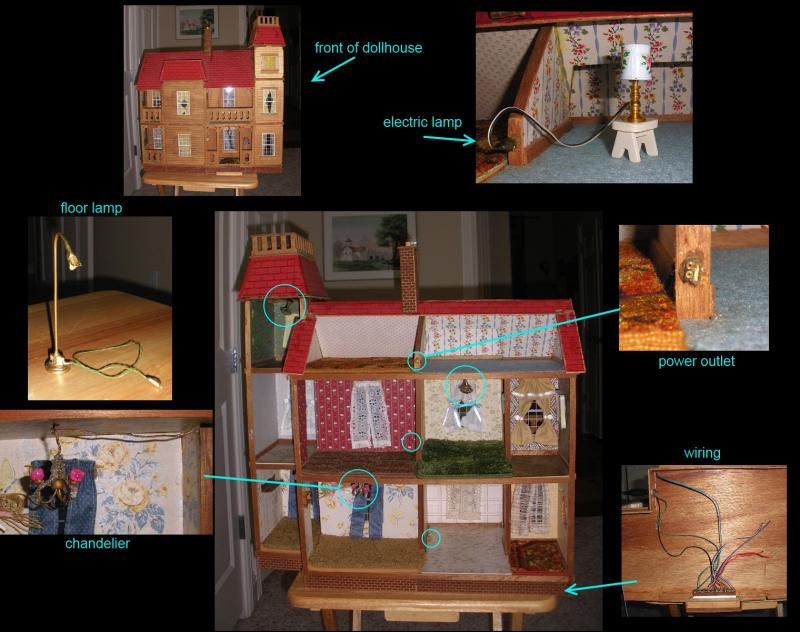 "Some people are born ""techies"" --as a kid Renee and her dad electrified her dollhouse --like with wee tiny plug-in sockets. Courtesy photo."
