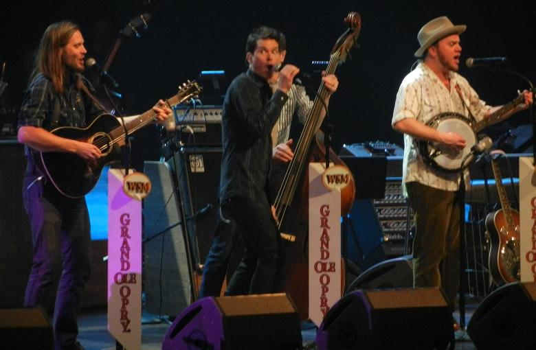 Old Crow Medicine Show plays the Grand Old Opry. Photo credit: Wikipedia user Mark Cattell via Wikipedia Commons.