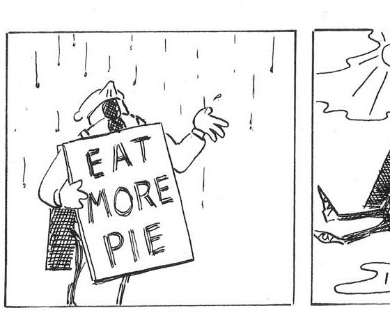 One panel of a Simon And The Pieman strip. Image credit: Currier Studios (simonandthepieman.tumblr.com)