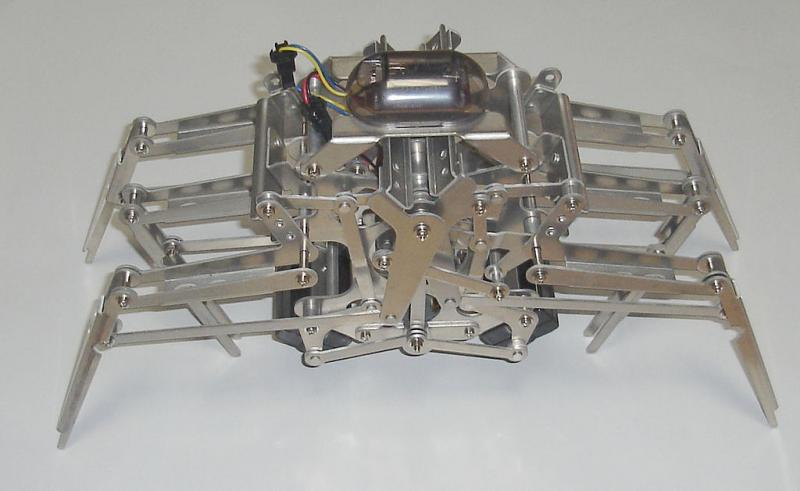 Mechano Crab by Gakken photographed by Wikipedia Commons user PlusMinus