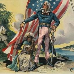 """Save me from my friends!"" Uncle Sam shelters Cuba"