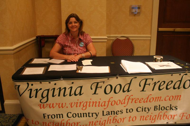 Bernadette Barber of Lancaster, Va., will be taking the fight for food freedom to the General Assembly this year in Richmond.