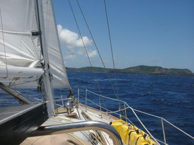 Underway in the Leeward Islands