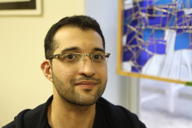 Husam Abdulazeez's photographs will be on display until April