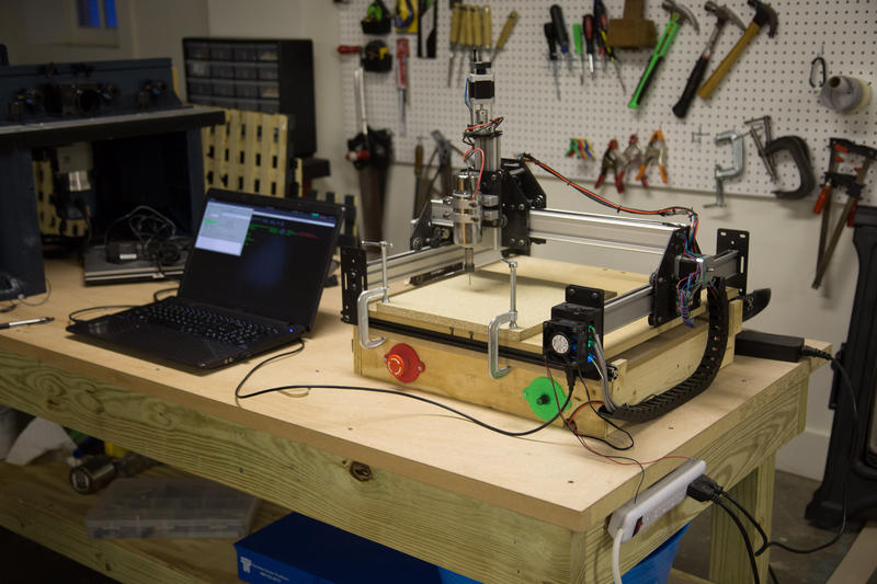The Shapeoko 2 router at Staunton Makerspace