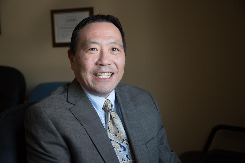 Michael Wong is the executive director at the Harrisonburg Redevelopment and Housing Authority.