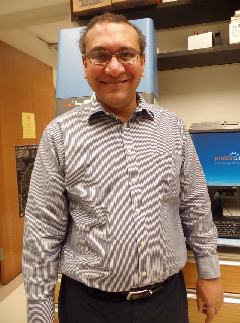 Anindya Dutta is chairman of biochemistry and molecular genetics at the University of Virginia.