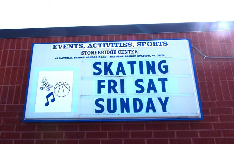 Stonebridge Skate Center opened two months ago and is introducing otherwise gadget hungry Rockbridge County kids to old school skating maneuvers such as Shoot the Duck, the Limbo and Crazy Legs.  The Grand Opening is April 11.