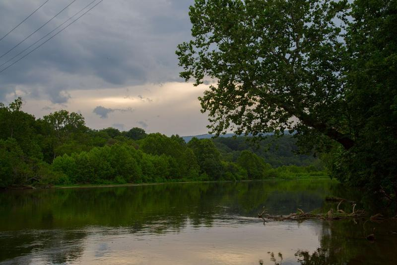 South Fork of the Shenandoah River in Luray.