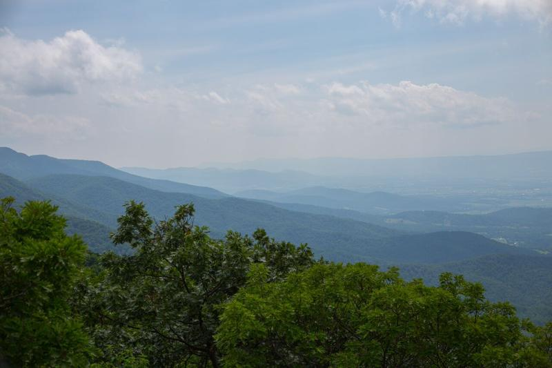 View of Shenandoah National Park from Mary's Rock
